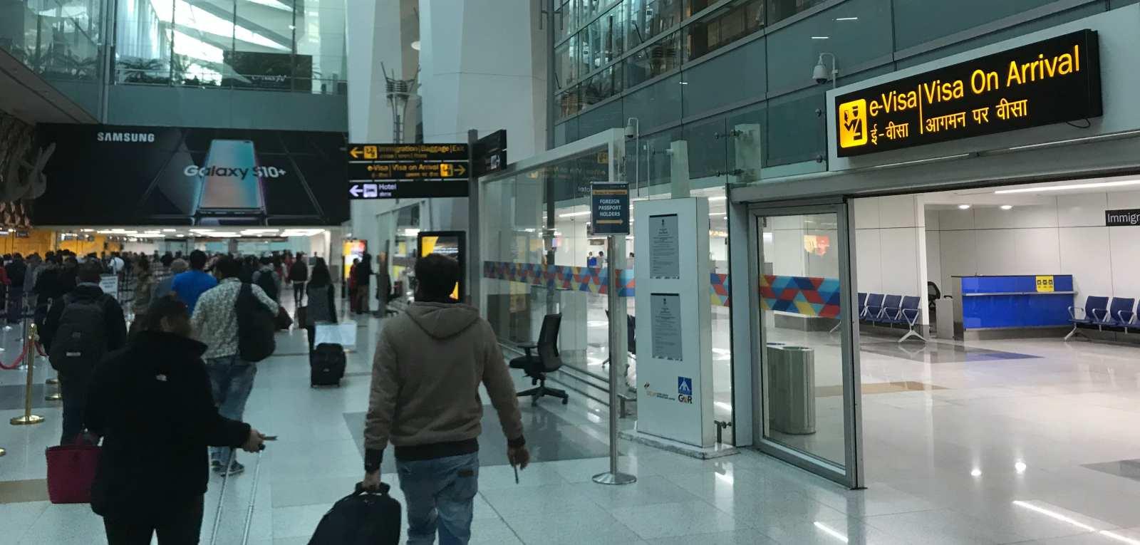 Flughafen Delhi Visum on Arrival
