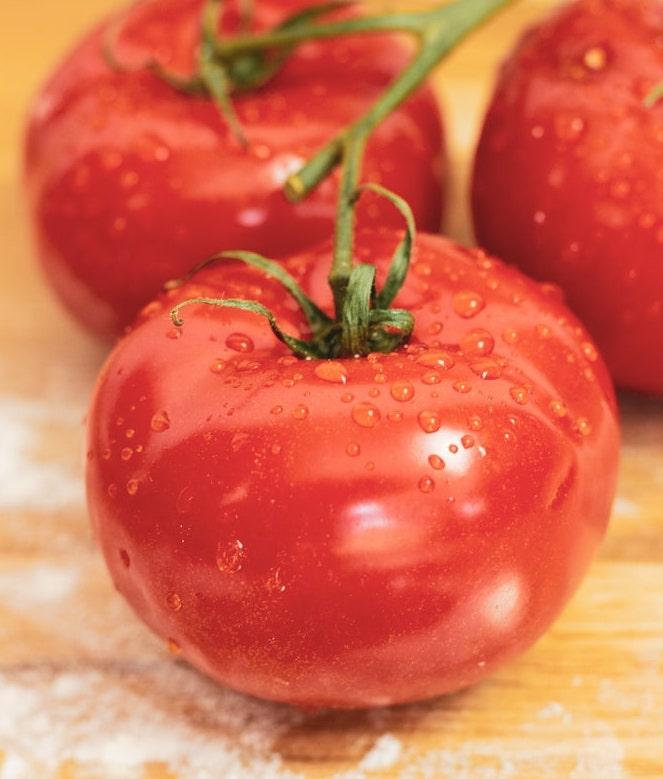 Tomaten-Pizza-Italienisch