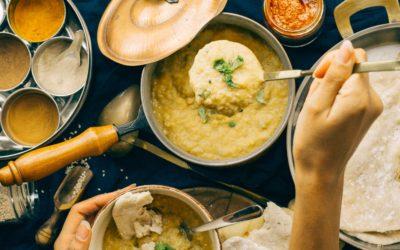 Linsen Dal mit Kartoffeln – Indisches Aloo Dal